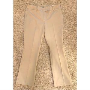 "Ann Taylor ""Curvy"" size 8 petite tan slacks. NWT"